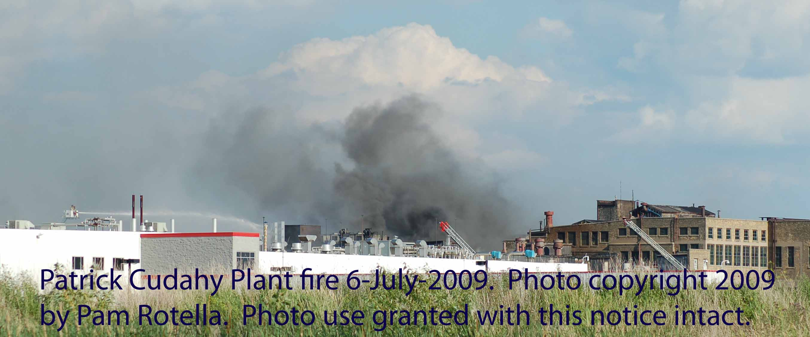 Cudahy fire July 2009