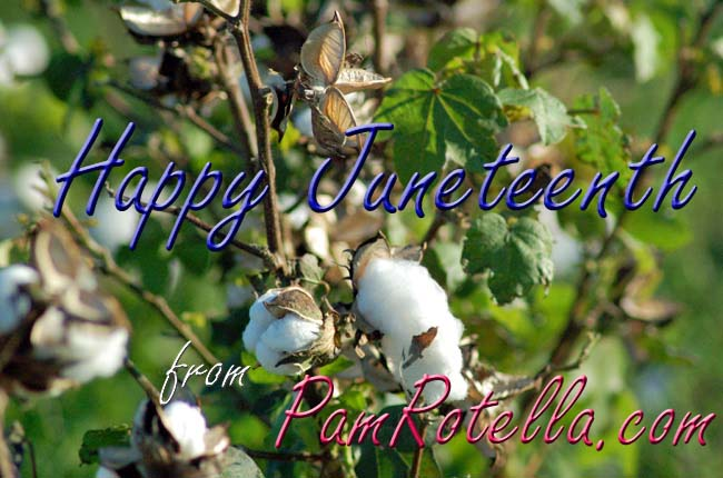 Juneteenth card to readers