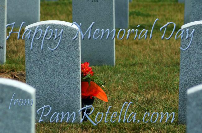 Memorial Day weekend card to readers (previous week) 2010