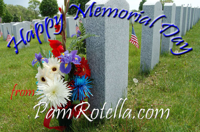 Memorial Day weekend card to readers 2011