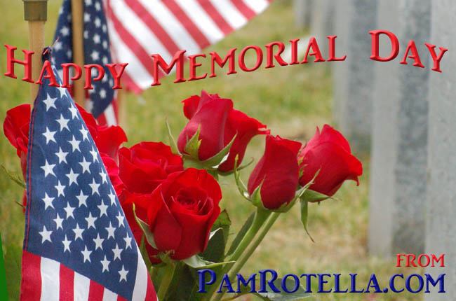 Memorial Day card to readers, 2012