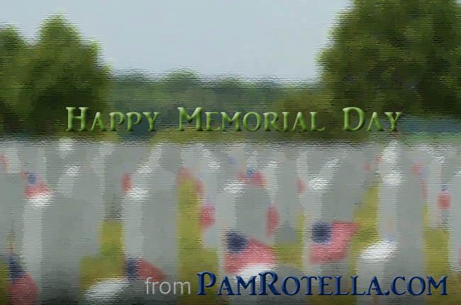 Memorial Day card to readers