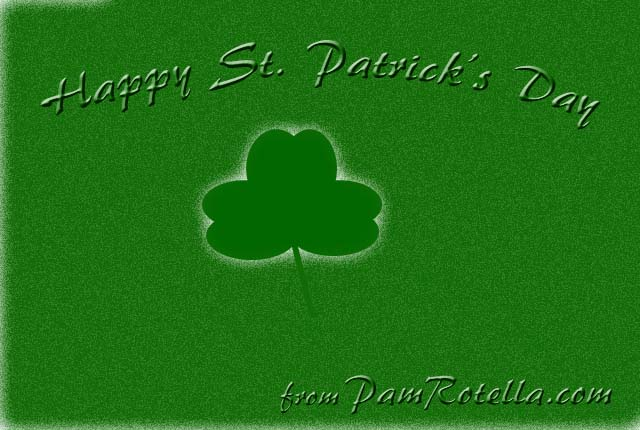 St. Patrick's Day e-card to readers