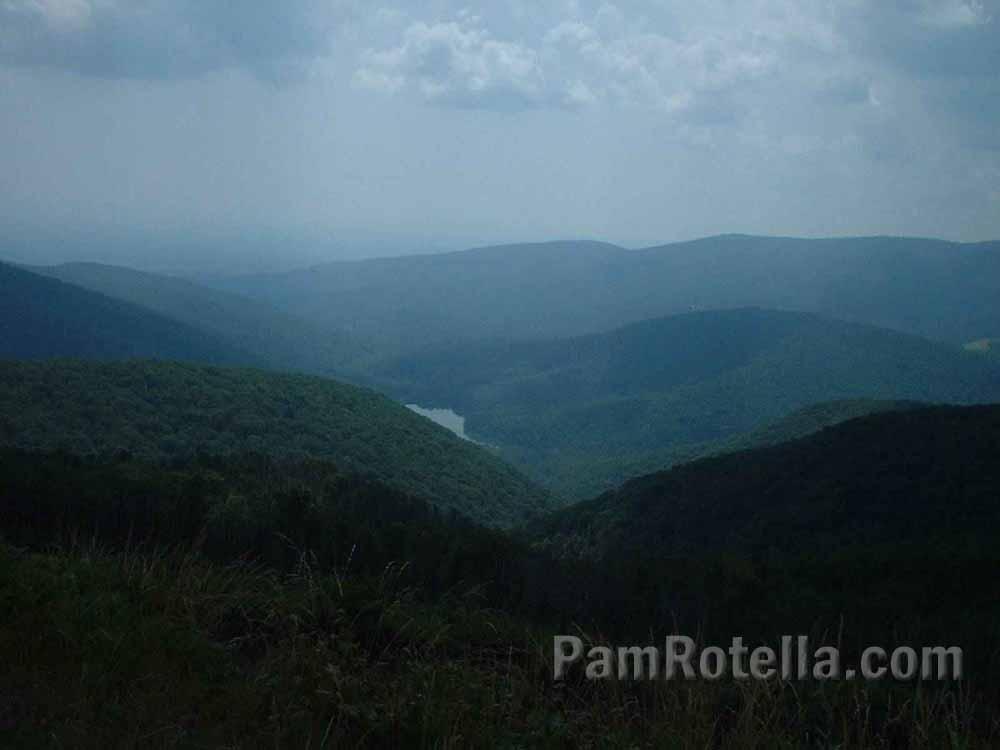 Blue Ridge Mountains, photo by Pam Rotella