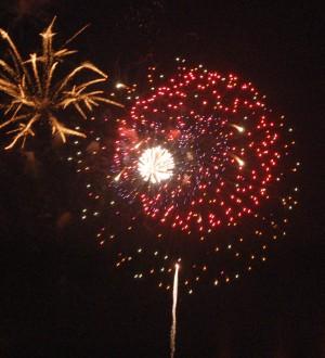 Fireworks at Virginia Beach, 4 July 2006