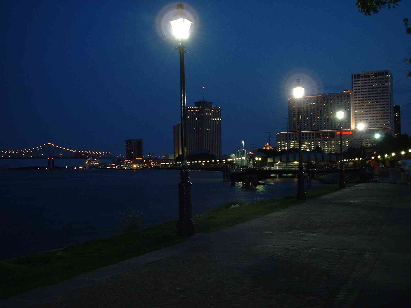 Mississippi river, New Orleans, Louisiana 2002
