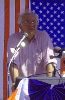 Bernie Sanders (D-VT), photo by Pam Rotella